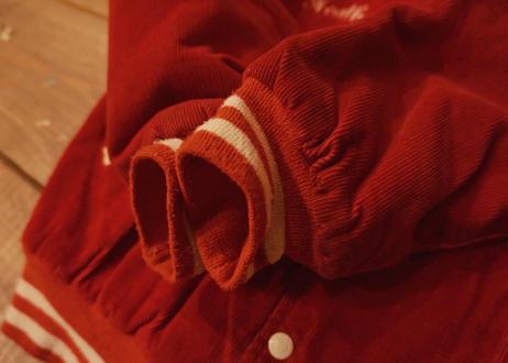 Maple corduroy varsity jacket