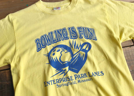 Fruit of the loom bowling tee