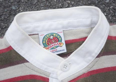 Barbarian cotton rugger shirt