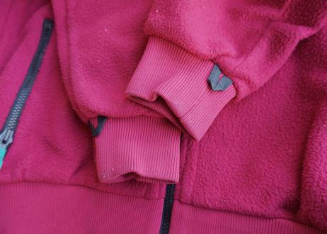 Columbia radial sleeve fleece jacket