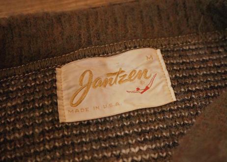Jantzen argyle knit sweater
