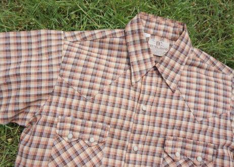 80's DeeCee s/s western shirt