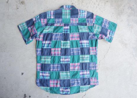 Chaps s/s patchwork shirt