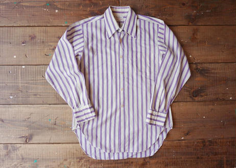 70's L/S stripe shirt