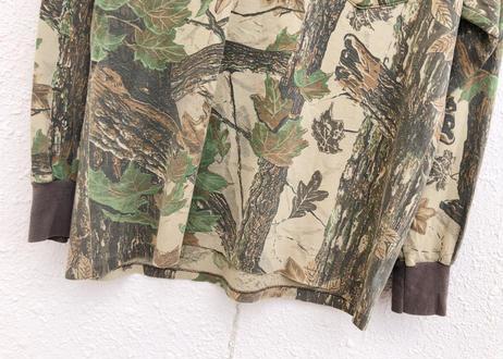 Real tree camouflage tee