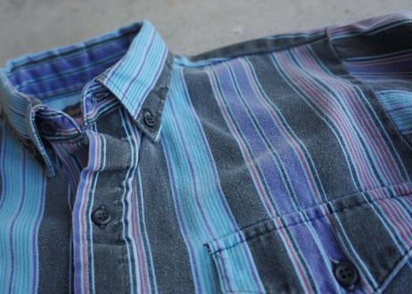 70's Panhandle Slim stripe shirt