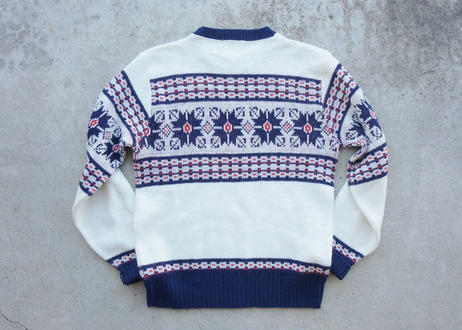 80's McBriar acryl sweater