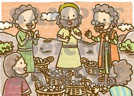[7/12] 5つのパンと2匹の魚