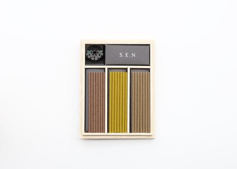 [贈り物]The OKOH Authentic   最高級香木3種と香皿のセット
