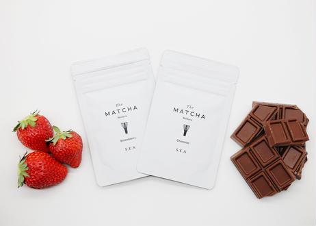 [贈り物]The MATCHA Modern | フレーバー抹茶3種と茶筅セット