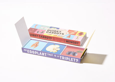 Memory game Quirky Carrots - English version