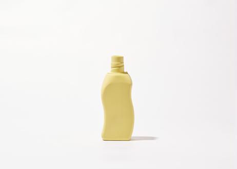 Bottle Vase Project- porcelain bottle vase #12 sun