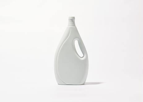 Bottle Vase Project- porcelain bottle vase #7 mint