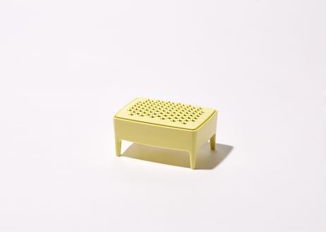 石鹸置き/イエロー(単品)