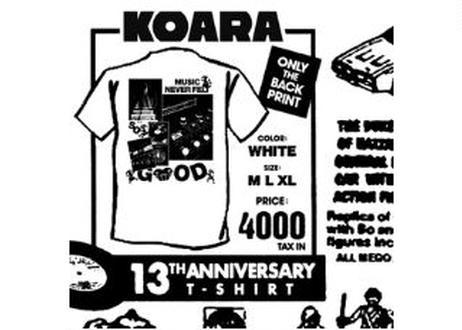 """SALE! 50%OFF""KOARA×BACKDOOR-Supply- T-SHIRT"