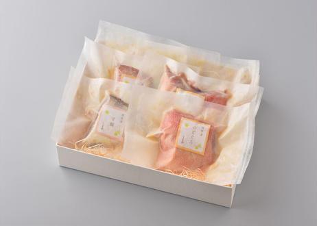 【光】-hikari- 高級漬け魚詰め合わせ2種6切 【のどぐろ西京漬け3切、甘鯛味噌幽庵焼き3切】