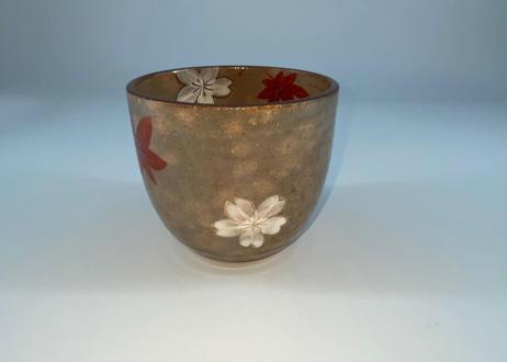 フリーカップ (灰袖 雲錦)