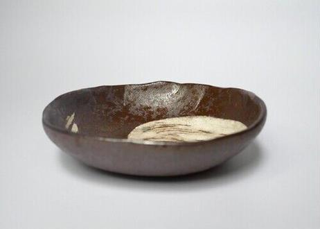 刷毛目 瓢箪型 小皿