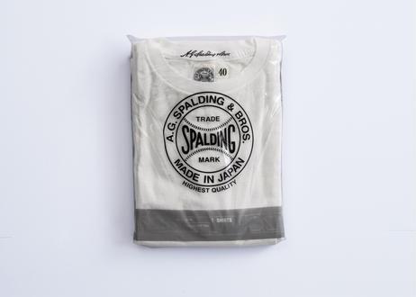 ★NEW 2枚組丸胴パックTシャツ(ホワイト)