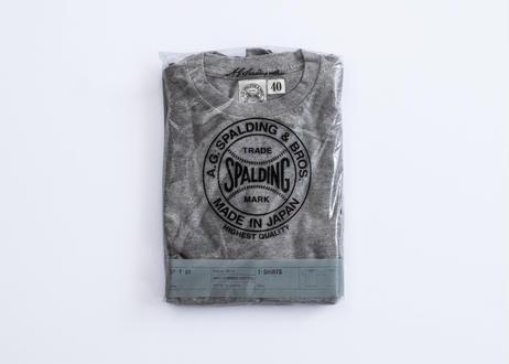 ★NEW 2枚組丸胴パックTシャツ(トップグレー)