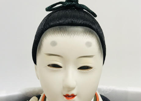 「ASAGIRI」シリーズ 雛人形 コンパクト親王飾り 西陣織 20-WHW