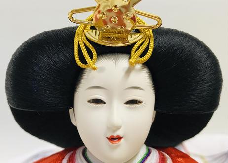 雛人形 親王飾り 友禅 木目塗飾り 20-Fここのえ