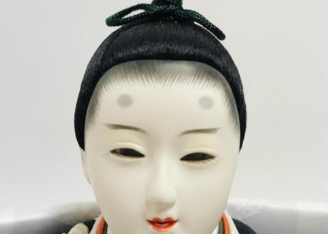 「ASAGIRI」シリーズ 雛人形 コンパクト親王飾り 正絹友禅  20-FW