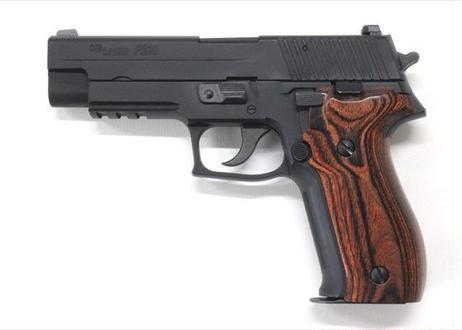 ウッドグリップ|SIG SAUER P226 RAIL|スムーズ/ブラウン