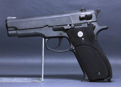 ウッドグリップ S&W M39/M439用 黒檀