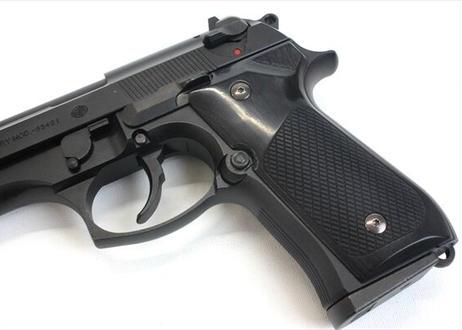 ウッドグリップ|U.S.M9/M9A1 |チェッカー/ブラック