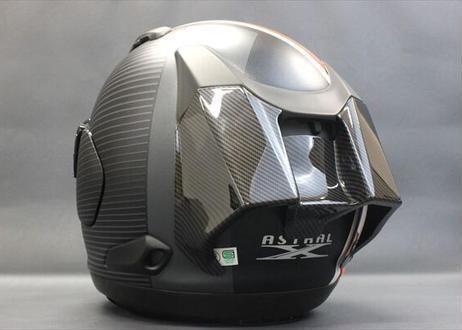 Arai ASTRAL-X|ディフューザー|スポイラーセット|カーボンスタイル [GR-608]