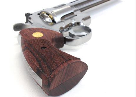 ウッドグリップ|Colt Python .357Magnum|オーバーサイズ