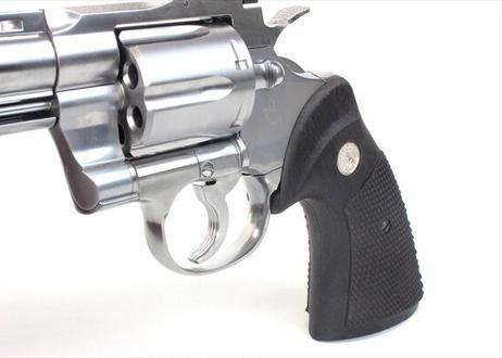 ウッドグリップ|Colt Python .357Magnum|オーバーサイズ|黒檀 [WST-305]