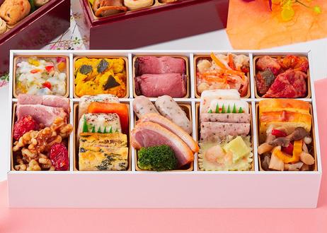 和の個食おせち& オードブル  二段三重/約2人前(#2211)