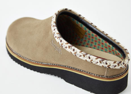 Rincon Point Clog Suede   TAUPE