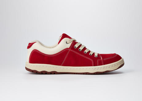 O.S.Sneaker suede  CHERRY