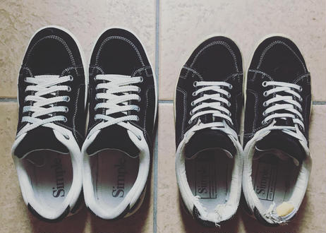 O.S.Sneaker  suede BLACK