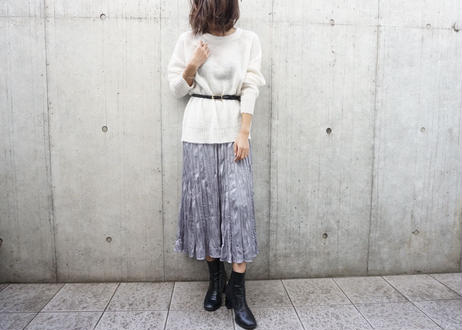 SHEER LOOSE MOHAIR KNIT