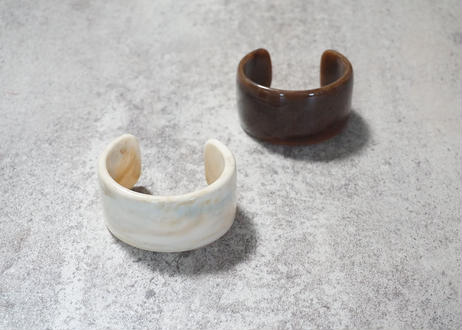marble wide bangle