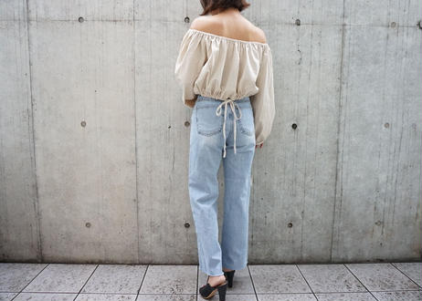 LINEN OFF SHOULDER TOPS