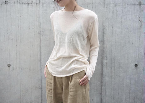 SHEER LONG KNIT