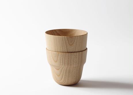 木のコップ S/L SET