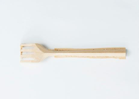 木のフォーク