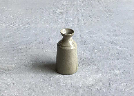 3 lines bottle vase / S / gray