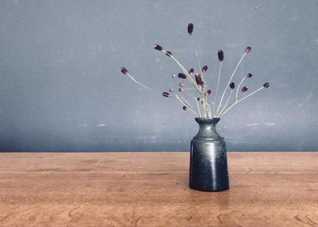 3 lines bottle vase / S / olive