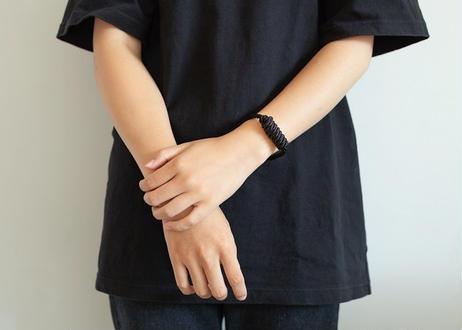 NOEUD Lineknot-bracelet Black