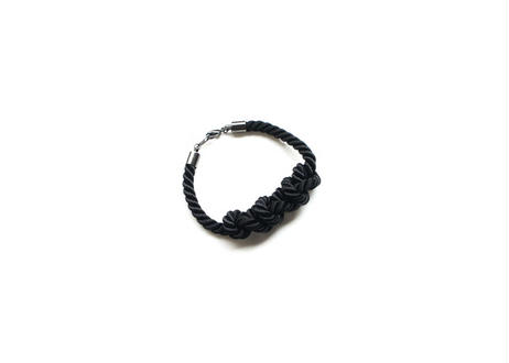 NOEUD 8knot-bracelet Men's Black