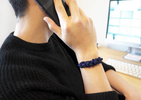 NOEUD 8knot-bracelet Men's Navy
