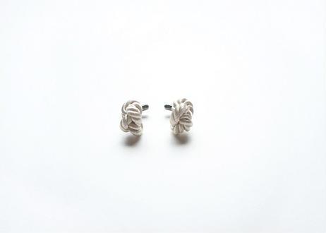 NOEUD 8knot-cufflinks Beige