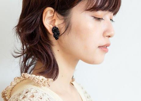NOEUD 8knot-pierce / earrings Black
